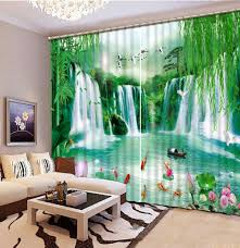 Chinese Home Decor Online Get Cheap Chinese Print Curtains Aliexpress Com Alibaba