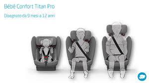 si e auto bebe confort in arrivo i nuovi seggiolini auto bebe confort titan e titan pro