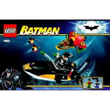 lego robin u0027s scuba jet attack of the penguin set 7885
