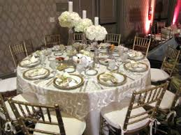 wedding table rentals table linens provide the wow factor wedding bar bat mitzvah