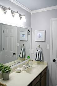 a simple bathroom makeover paint is the bomb from thrifty decor