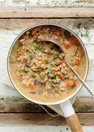 Italian Bread Salad Recipe Ina Garten Recipe Ina Garten U0027s Wild Mushroom U0026amp Farro Soup Kitchn