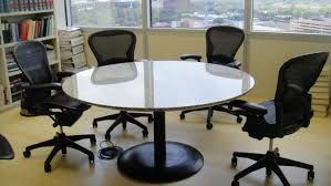 marble conference room table white round meeting room table table ideas