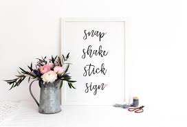 poloroid guest book snap shake stick sign polaroid guestbook sign printable