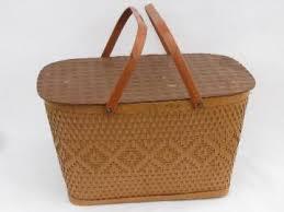 vintage picnic basket vintage picnic baskets wicker picnic baskets vintage metal