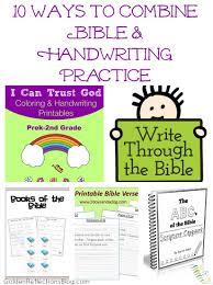 10 ways to combine bible and handwriting practice growing hands
