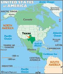 tecas map map geography of map of worldatlas