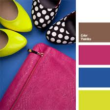 matching colours with pink contrasting colours color palette ideas