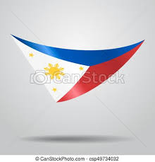 philippines flag background vector illustration vectors