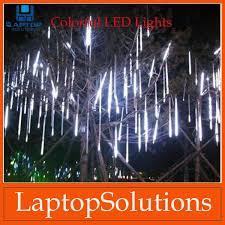 50cm led christmas lights led lights strip meteor shower rain tube