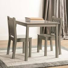 3 piece table and chair set tot tutors 3 piece grey kids large table and chair set cl329 the