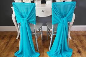 turquoise chair sashes 2018 new arrvail turquoise chair sashes for wedding event party