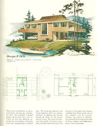 vacation house plans vintage house plans vacation homes 1960s divers