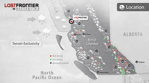 Map Of British Columbia Canada by