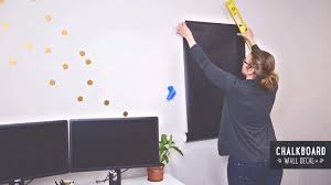 Chalk Board Wall Stickers How To Install Large Chalkboard Wall Decals On Vimeo