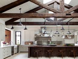 Ceiling Ideas Kitchen Ceiling With Wood Beams Kitchens With Vaulted Wood Ceilings And