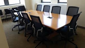 Teknion Conference Table Used Teknion Conference Table 10x3 5 Used Office Furniture