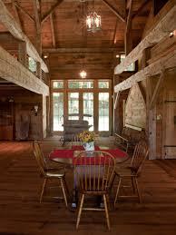 Pole Barn Home Interior Catskill Barn Home Heritage Restorations