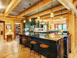 log cabin open floor plans photos log homes loaded with luxury