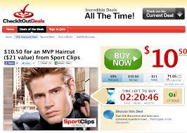 sports clip mvp haircut deal 10 50 for boys u0026 men 21 value