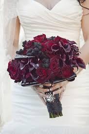 burgundy flowers wedding wednesday plum burgundy flower inspiration flirty
