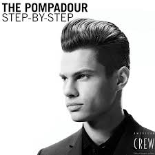 bond china pompadour the classic modern pompadour step by step american crew bangstyle