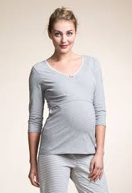 maternity nightwear top 3 4 sleeve maternity nightwear nursing nightwear