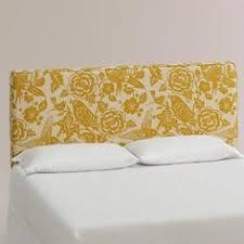 World Market Headboards by 8 Button Tufted Jojo Yellow Headboard Pasada Master Bedroom