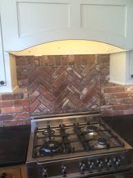 Vintage Brick Veneer Blog  Brick Veneer Installation Tips  News - Brick veneer backsplash
