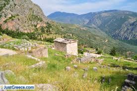 Delphi Greece Map by Fokida Central Greece Greek Mainland Greece