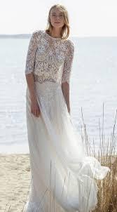 sleeve lace wedding dress 31 delicate and chic flowy wedding dresses weddingomania