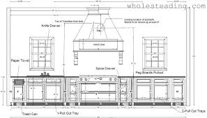 designing kitchen and cabinet layouts wholesteading com
