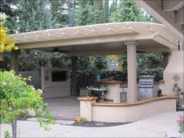 outdoor magnificent aluminum attached patio cover adding a