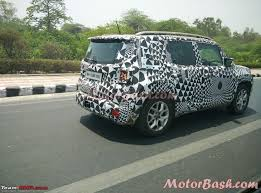 silver jeep renegade jeep renegade spied testing in india page 5 team bhp