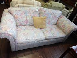 Patterned Sofa Bed A Beautiful Vintage Flower Patterned Sofa Bed 14 11 For Sale In