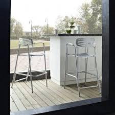 Aluminium Bar Table All Aluminum Outdoor Bar Stool Foter