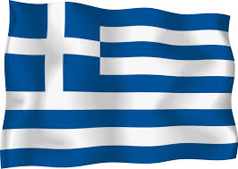 Greek Flag Background Greece Flag Clipart