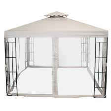 Side Curtains Bentley Garden 3m X 3m Steel Art Gazebo With Side Curtains