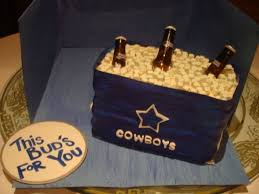 Metal Budweiser Cooler by Dallas Cowboys Budweiser Cooler Cakecentral Com