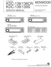 kenwood kdc 135 wiring diagram kenwood kdc 210u wiring diagrams