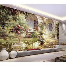 hd mediterranean 3d customized photo wallpaper wall mural home