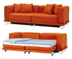 Small Sleeper Sofa Ikea Beautiful Orange Sleeper Sofa Best Sofas And Couches For Small
