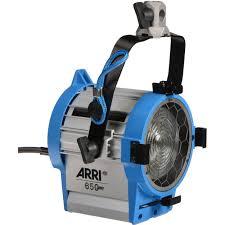 Image Arri Arri 650 Watt Plus Tungsten Fresnel 120 240vac L1 79400 A B H