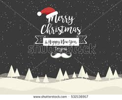 merry happy new year stock vector 714824674