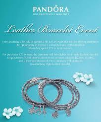 free leather bracelet images Promotion alert pandora leather bracelet promo for the uk starts jpg