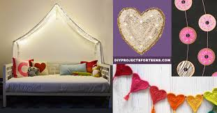 Insanely Cute Teen Bedroom Ideas For DIY Decor Crafts For Teens - Teenage girl bedroom designs idea