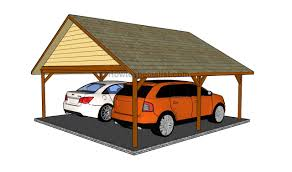 Attached Carport Designs Carport Designs Howtospecialist How To Build Step By Step Diy