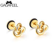 gold stud earrings for men gagafeel geometric earring vintage stud earring men jewelry