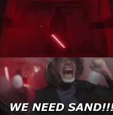 Sand Meme - sand memes are irritating prequelmemes