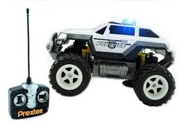 monster trucks toys prextex remote control monster police truck radio control police